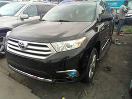 Full Option Toyota Highlander, 2012 Model, Direct Foreign Use