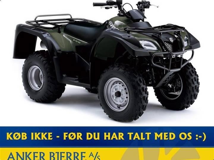 Suzuki LT-F250 LEVERES I GRØN ELLER RØD - 2019