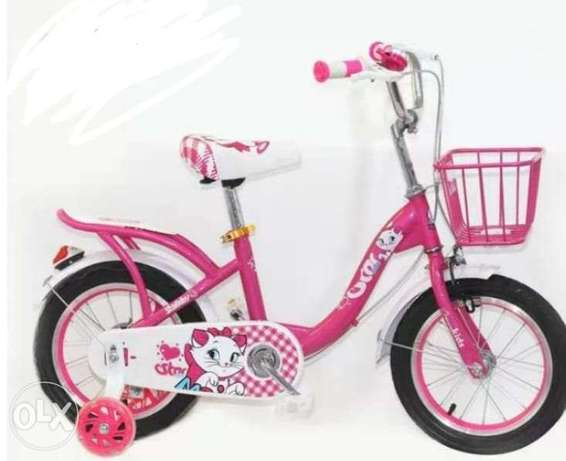"""New cycle for kids size 18"""" good quality we have all sizes الرفاع -  2"""