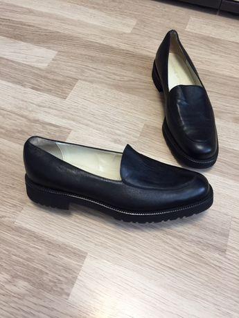 Туфли лоферы кожаные ADRIENNE VITTADINI 39 301670078781b