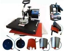 Brand new 8 in 1 Heat press machine for branding