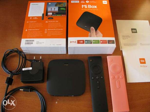 Xiaomi Mi box 4 SE TV Box With PatchWall artificial smart voice ... xi