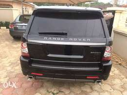 Clean Range Sport 07 converted to 2012