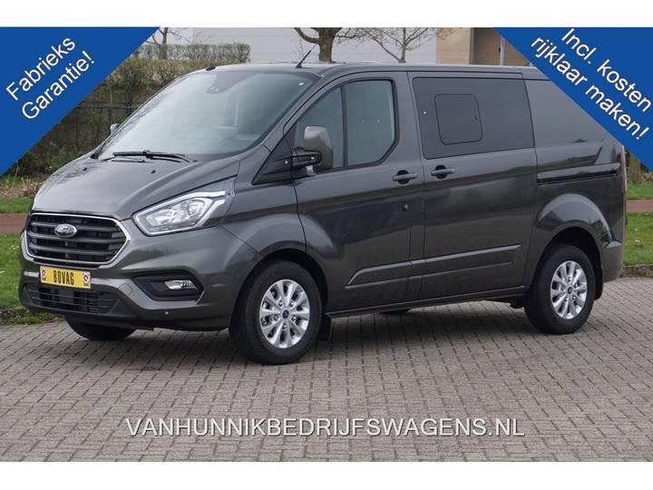 Ford Transit Custom 300S 170PK Limited Dubbel Cabine Navi, Ala... - 2019