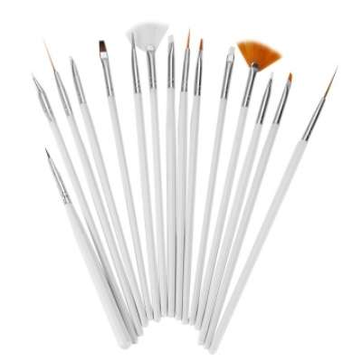 15 pcs Nail Art brushes Nairobi CBD - image 1