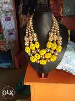 Yellow fashion Bead