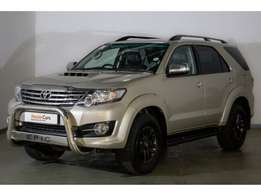 2015 Toyota Fortuner 3.0D-4D 4x4 Auto for sale R 404 950.00