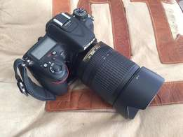 Nikon D7100 with 18-140mm Lens
