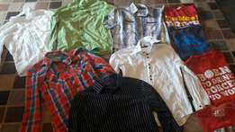Lots of mens/ Boys clothing for sale