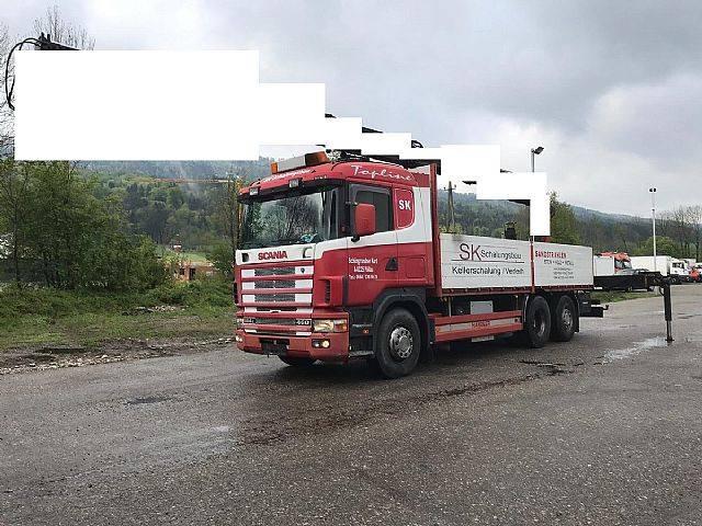 Scania R 144-460 6x2 Pritsche 6,40m   OHNE KRAN - 1998