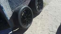 15inch racing rims/tyers for sale