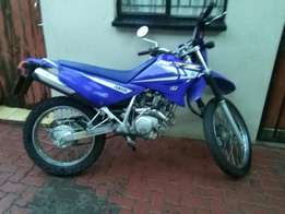 Yamaha 125cc on and off road