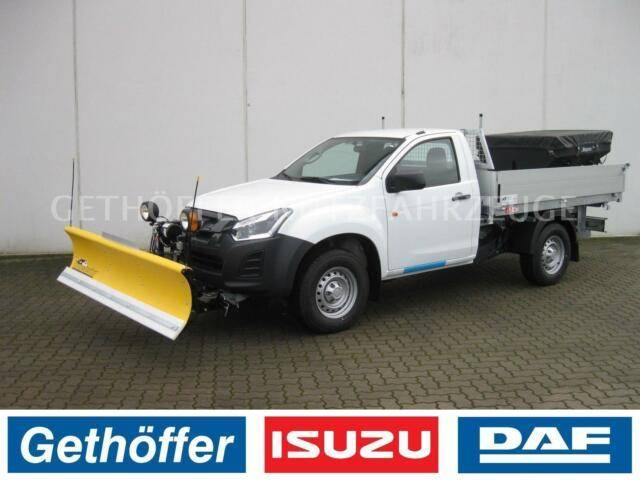 Isuzu D Max Single Cab Basic Kipper AHK Last 3,5t