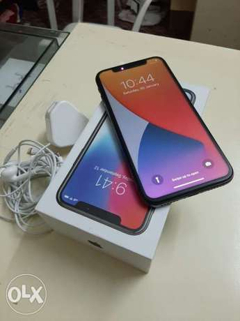 IPhone X 256gb with box and all accessories original