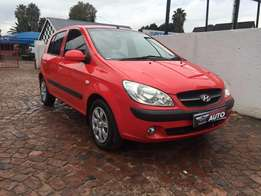 2010 hyundai getz 1.6 gl high-spec with only 127000 kms
