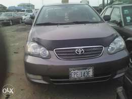 Toyota Corolla few months used