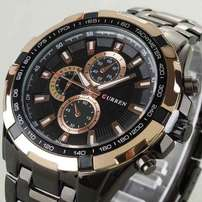 camera watch black goldenn curren