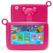 Trendy Kids Educational Tablet PC with free Case : Pink