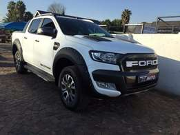 2016 Ford Ranger 3.2 TDCI Wildtrack 4x4 auto,Double cab,pickup double
