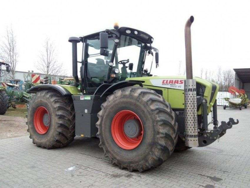 Claas xerion 3800 trac vc - 2012