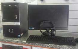 Proline Pc Tower and screen for sale