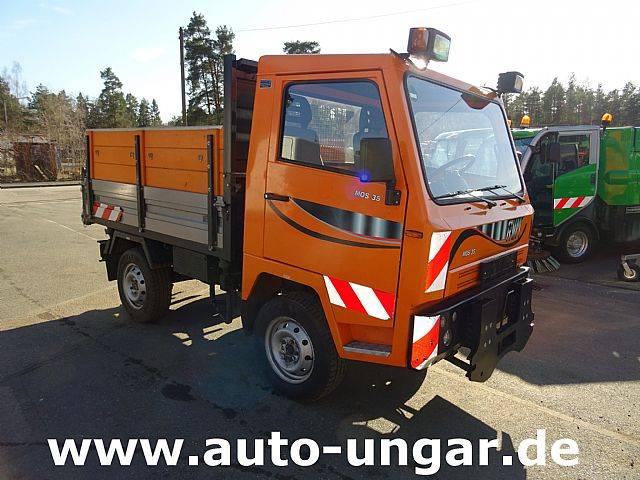 Multicar BSI Veicoli RVM MOS 35 Kipper 4x4 Schalter AHK 3.3 - 2012
