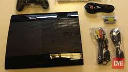 Playstation 3 super slim chipped with 10 free games