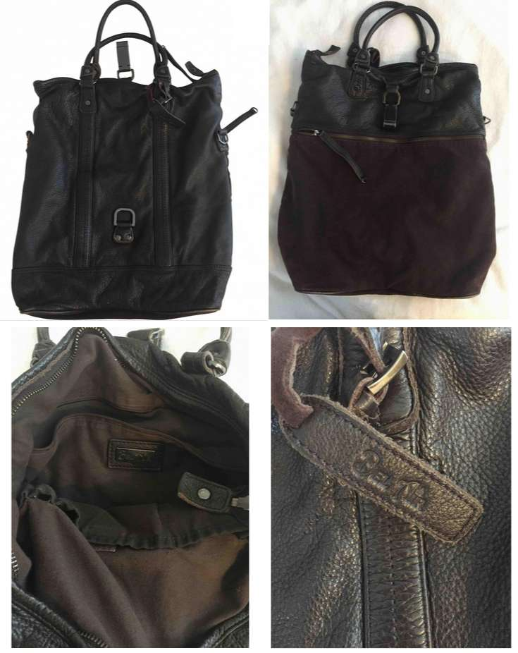 Authentic And Pre Owned Bel Air Leather Bag 0