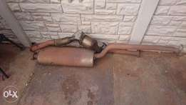 Complete Ford Ranger 3.2 Sup/cab exhaust