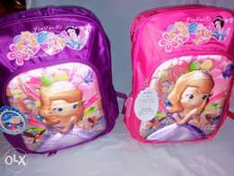 Sofia the first fashion school bag with light