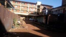 Eighth acre commercial plot for sale at Roysambo, Thika road