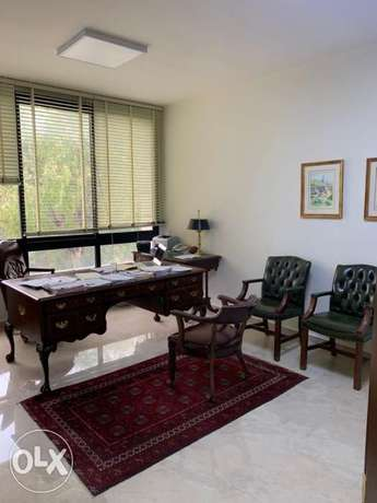 FOR RENT, furnished office HAZMIYEH !