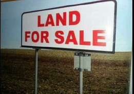 Geunine 5plots of land for sale Each plot 18m At East west Rd