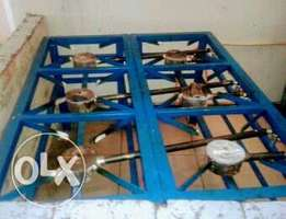 6 plate gas stove