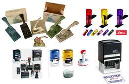 We offer you professionally crafted company Seals and Rubber Stamps.