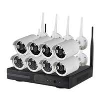8channel Wireless network camera and Nvr and all its accessories