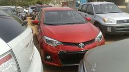 Toyota Corolla S, 2015 Model, Foreign Use