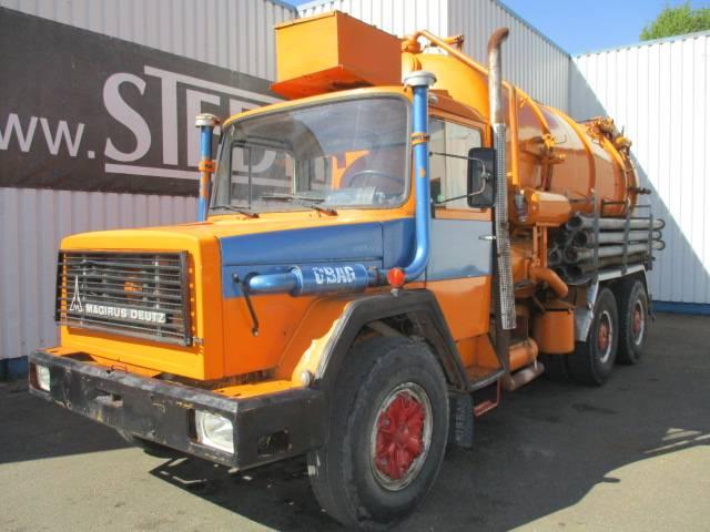 Iveco Magirus 256D 26K, 6x4 , Vacuum Truck - 1979