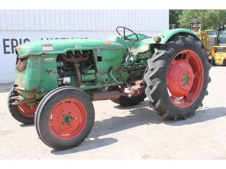 Deutz-fahr D5005 Tractor - 1966