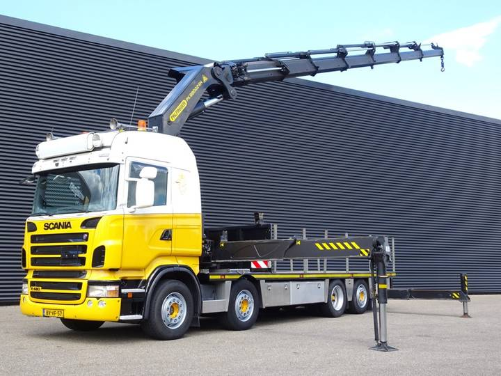 Scania R480 8x2 / Palfinger PK 88002 CRANE / KRAN - 2009