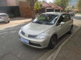 2012 nissan tiida 1.6 for sale