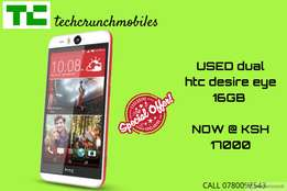 HTC DESIRE EYE DUAL 2USED in great condition