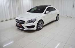 2014 Mercedes Benz CLA45 AMG 4-Matic tiptronic