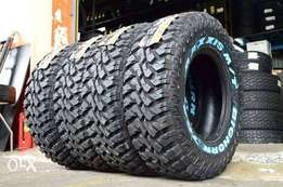 265/75R16 brand new Maxxis tyres M/T