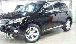 2009 Lexus RX450 black beauty