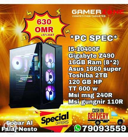 Asus1660 super pc in offer
