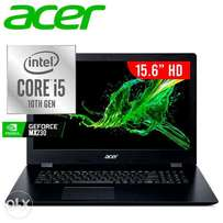 For Sale ACER New Laptop core i5/8 GB DDR4/1TB HDD+256 SSD