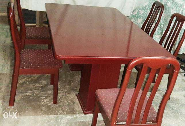 Dinning table with chairs