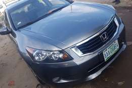 Newly registered 2009 Honda Accord with Good usage history