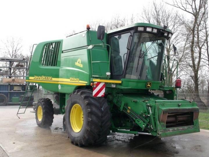 John Deere 9560 wts hillmaster - 2001